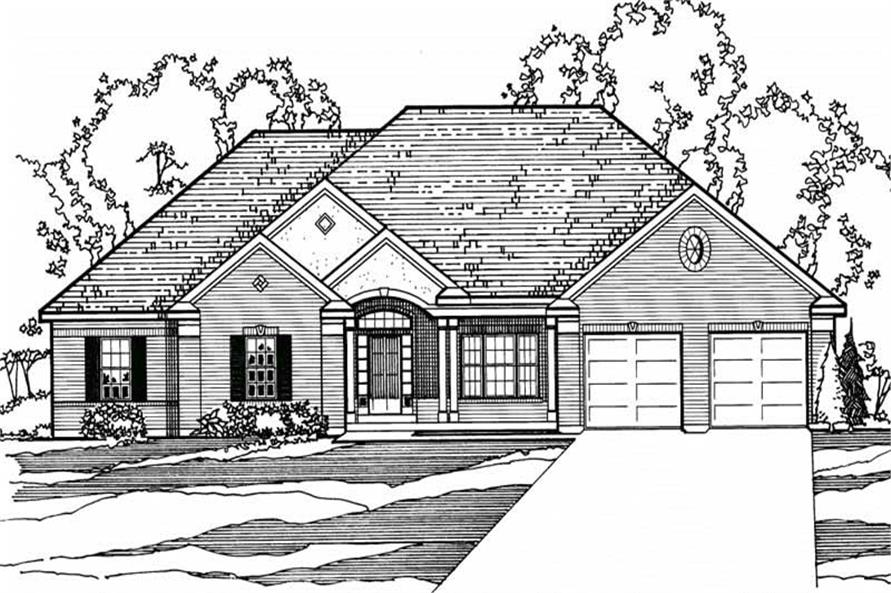 Main image for house plan # 3209
