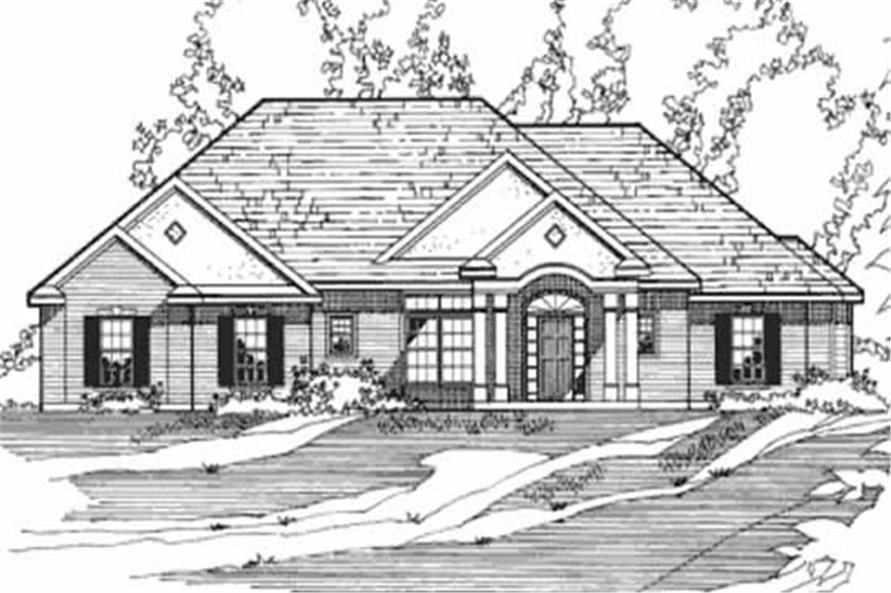 Main image for house plan # 3202