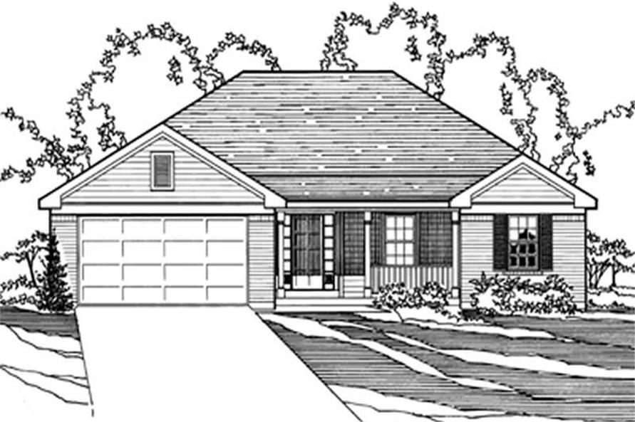 Main image for house plan # 3197