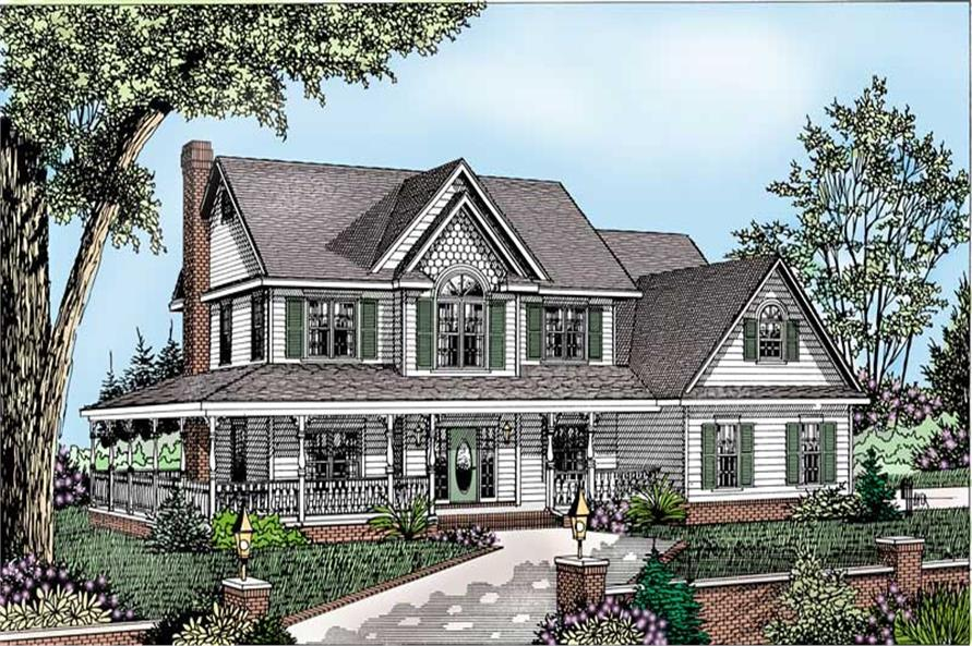 Main image for house plan # 16973