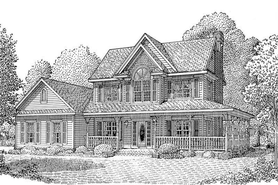 House Plan C161g3 Front Elevation