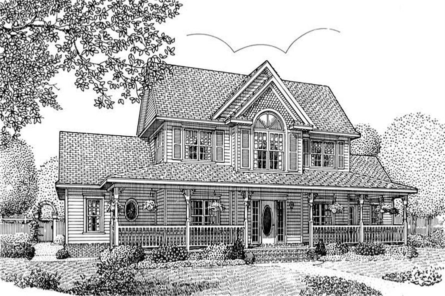 House Plan E167 Front Elevation
