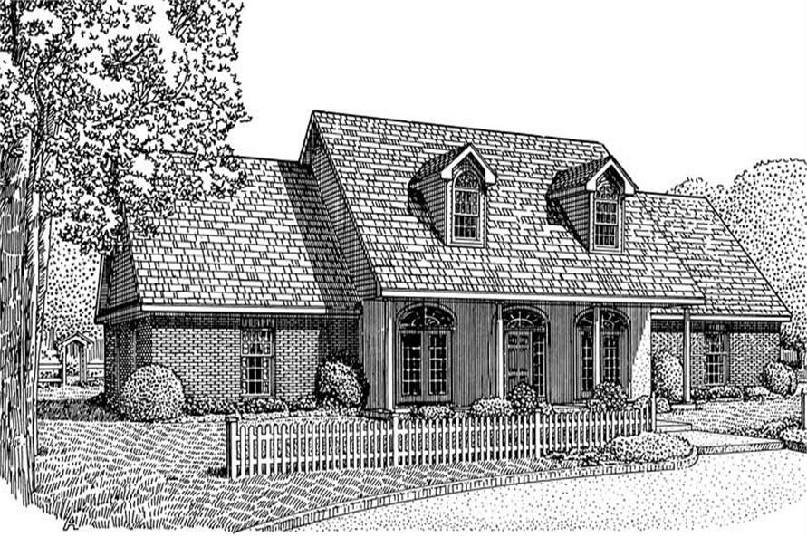 Main image for house plan # 3686