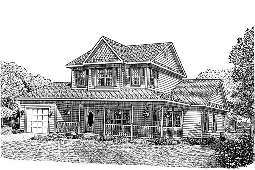 Main image for house plan # 3684