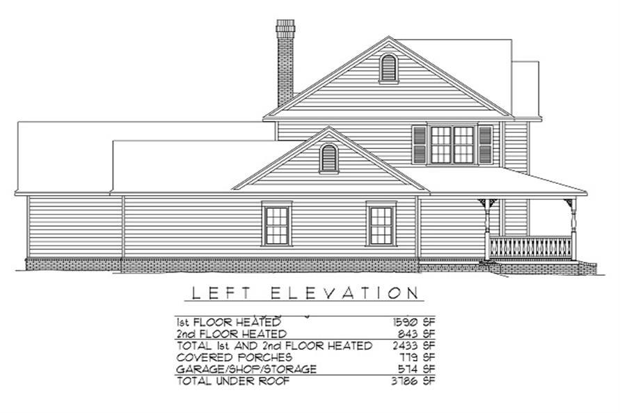 173-1033 left elevation