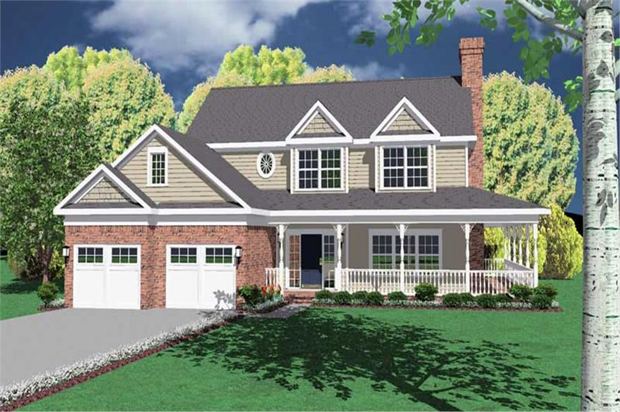 Main image for house plan # 3666