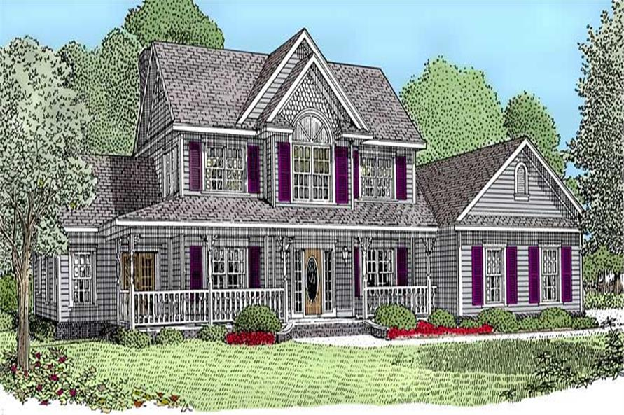 Main image for house plan # 3664