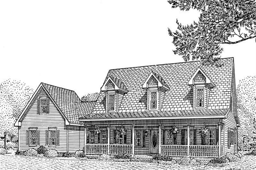 Main image for house plan # 3661
