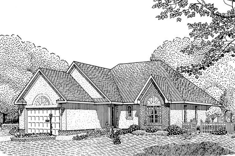 Main image for house plan # 3674