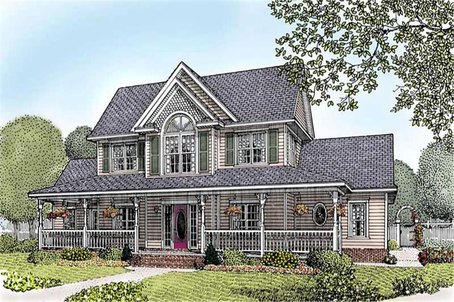 Main image for house plan # 16976