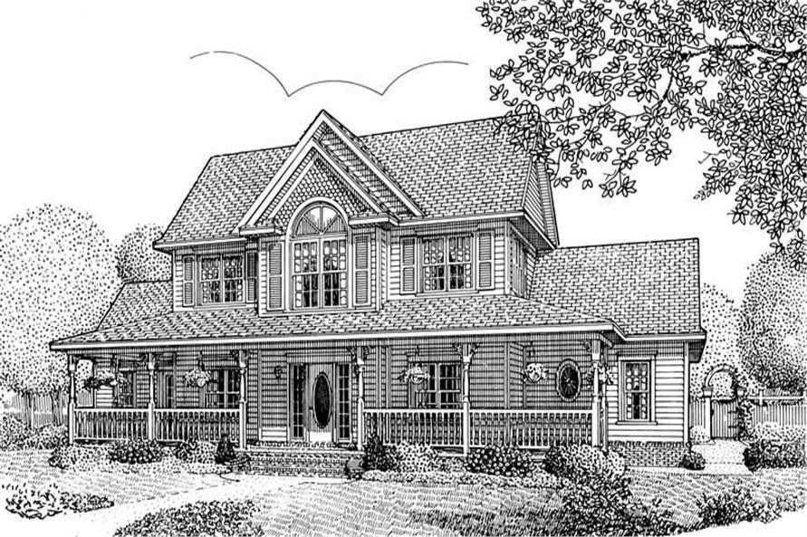 House Plan D167g3 Front Elevation