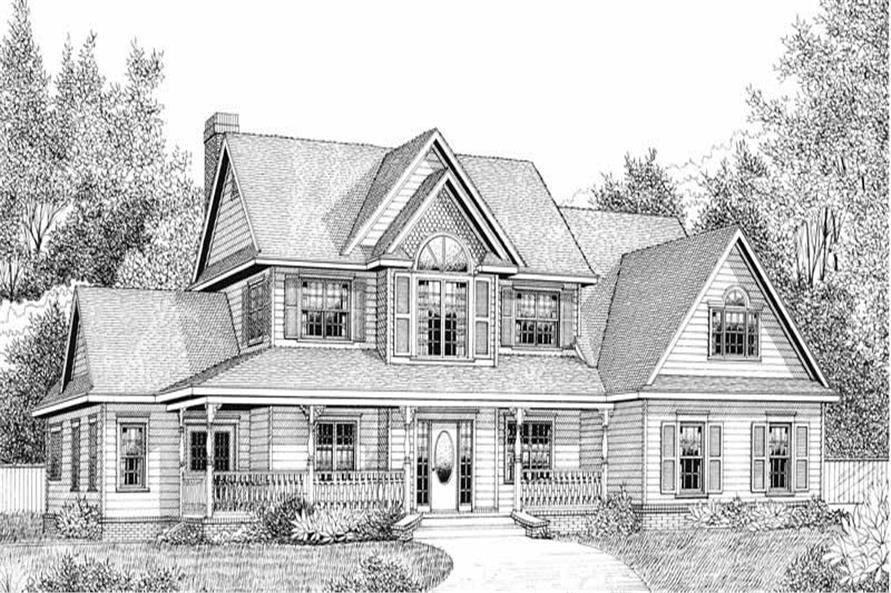 House Plan D171g3 Front Elevation