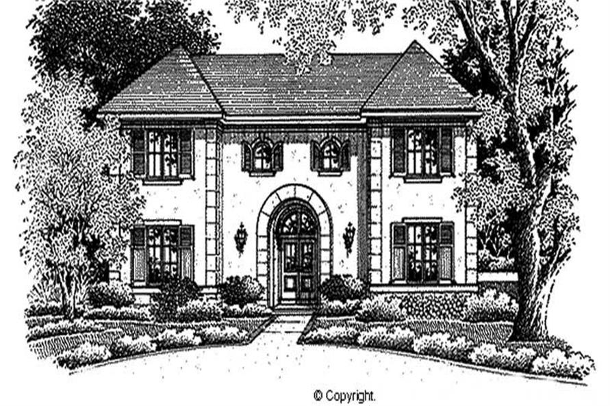 Main image for house plan # 11282