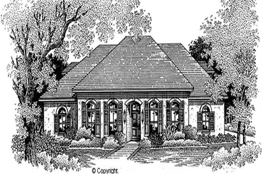Main image for house plan # 11275