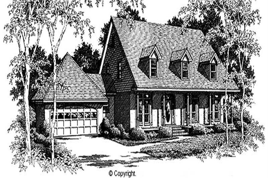 Main image for house plan # 11285