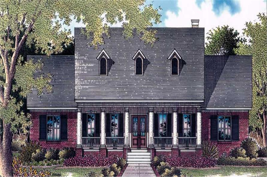 Main image for house plan # 11290