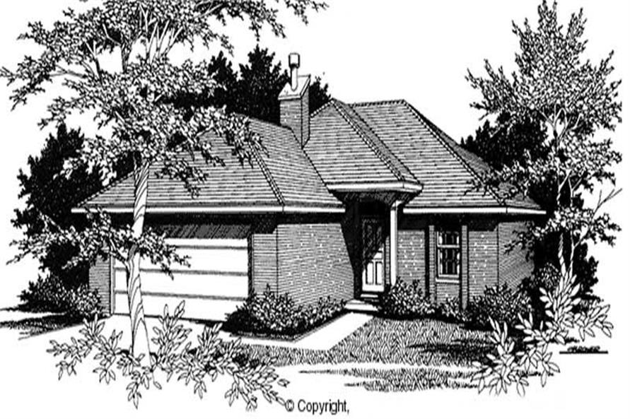 Main image for house plan # 11199