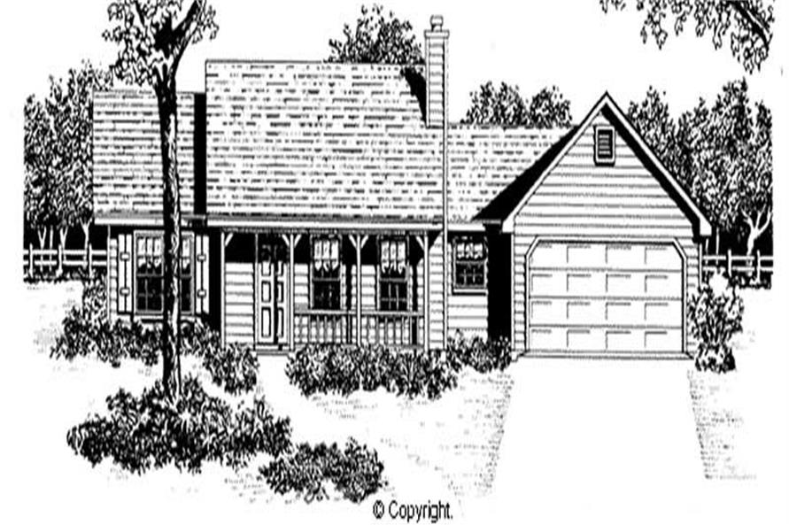 Main image for house plan # 11202