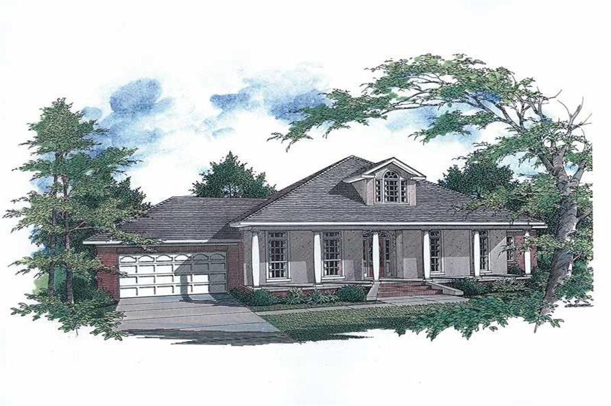 Main image for house plan # 11251