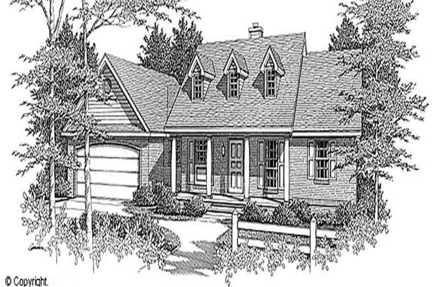 Main image for house plan # 11207