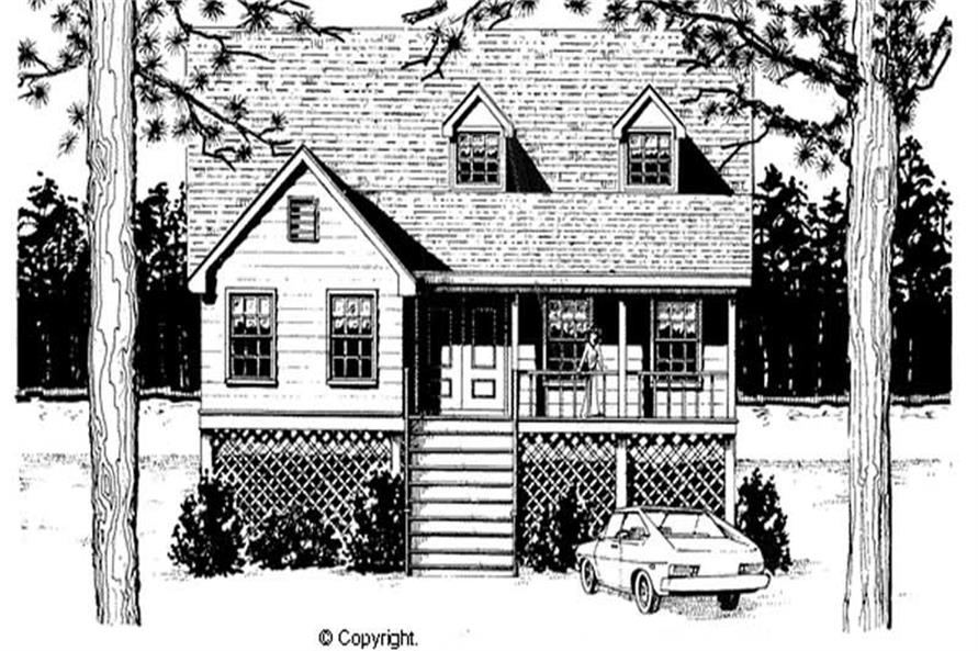Main image for house plan # 11222