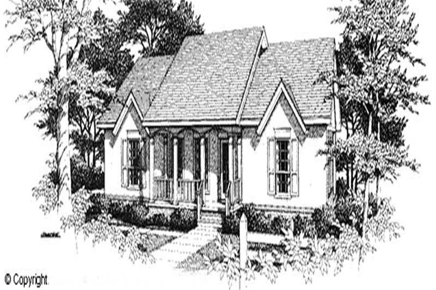 Main image for house plan # 11220