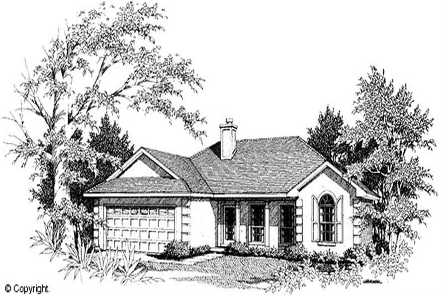 Main image for house plan # 11217