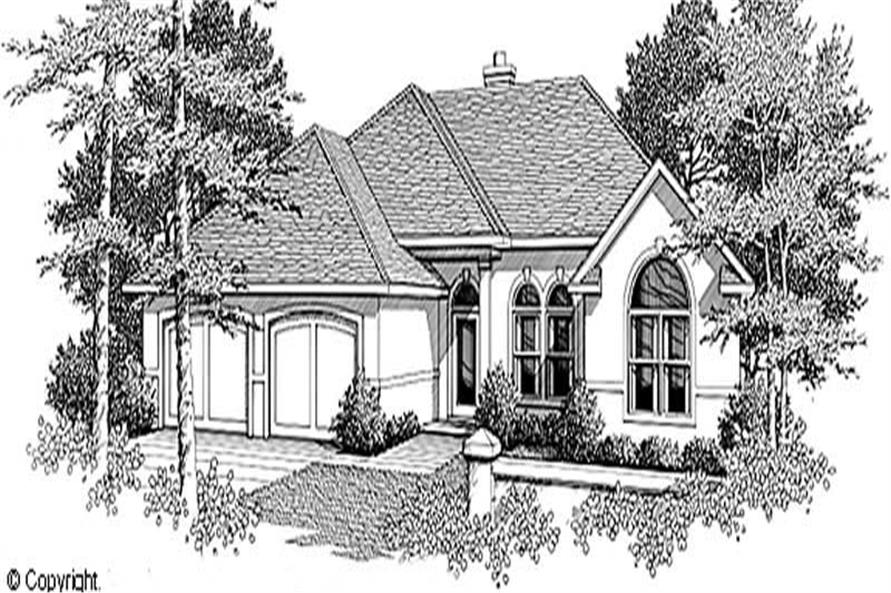 Main image for house plan # 11233