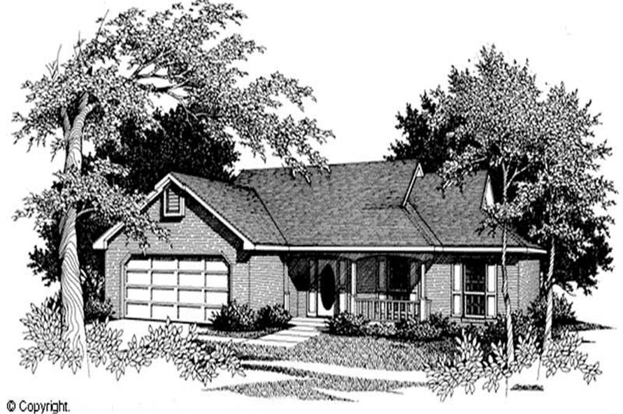 Main image for house plan # 11204