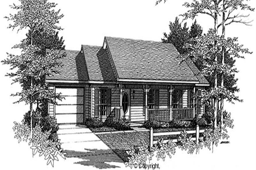 Main image for house plan # 11200