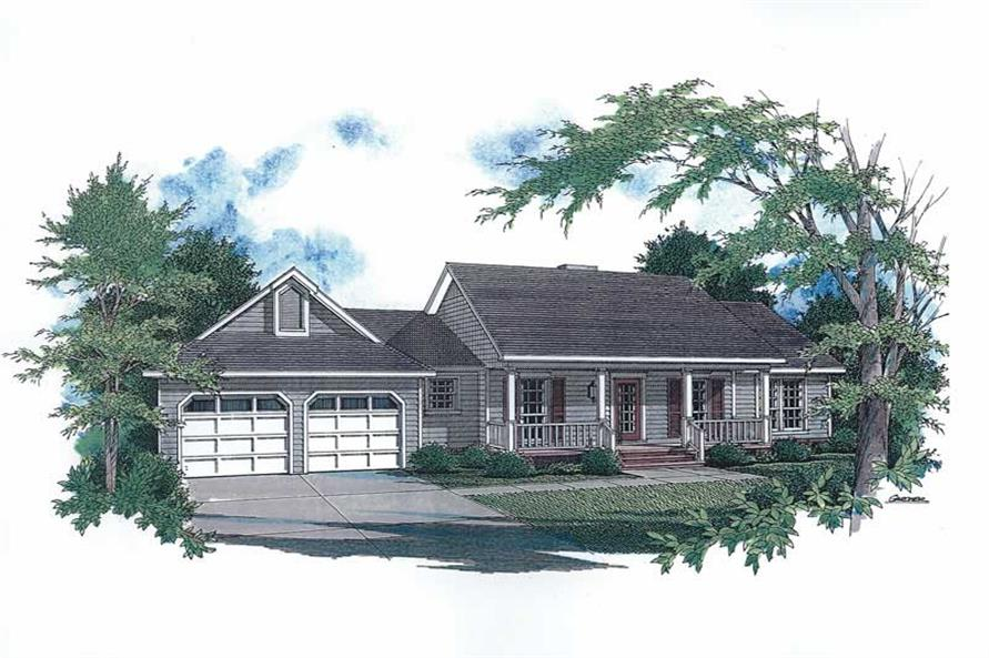 Main image for house plan # 11215