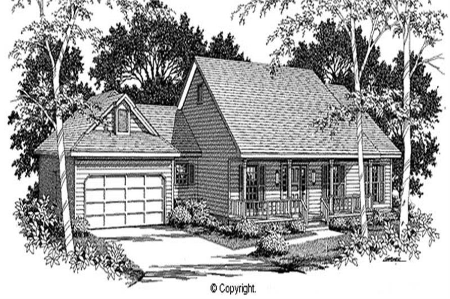 Main image for house plan # 11256