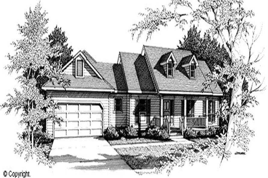 Main image for house plan # 11230