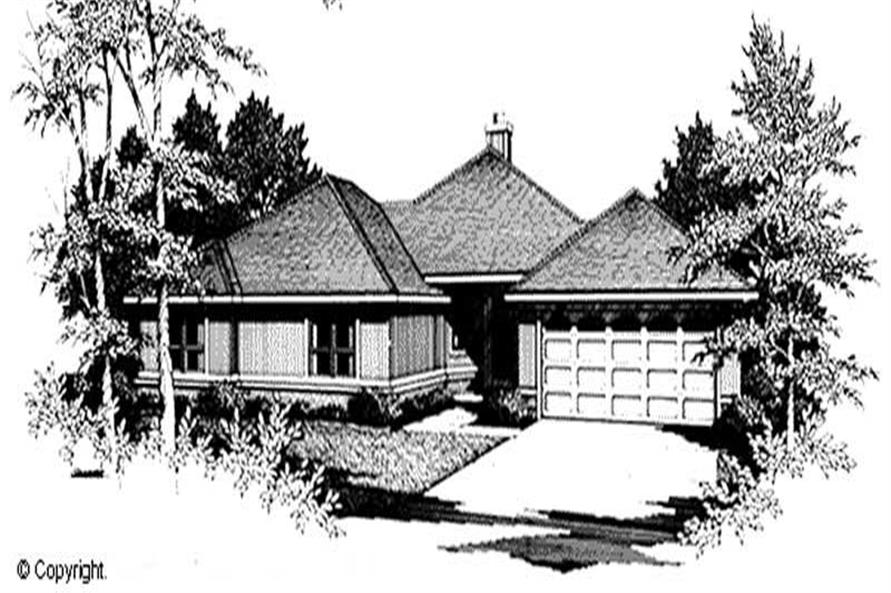 Main image for house plan # 11231