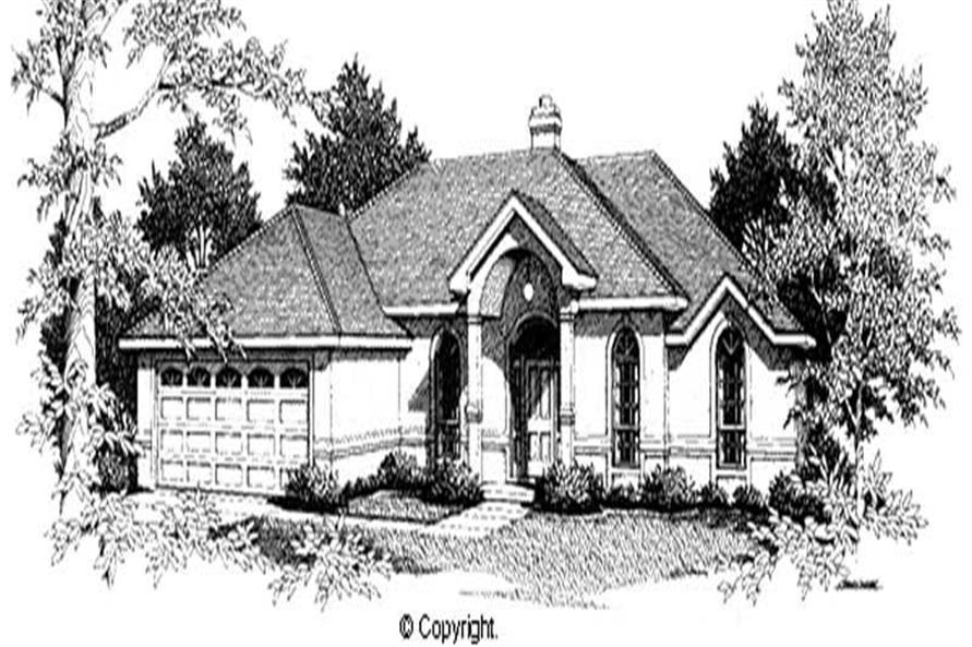 Main image for house plan # 11240