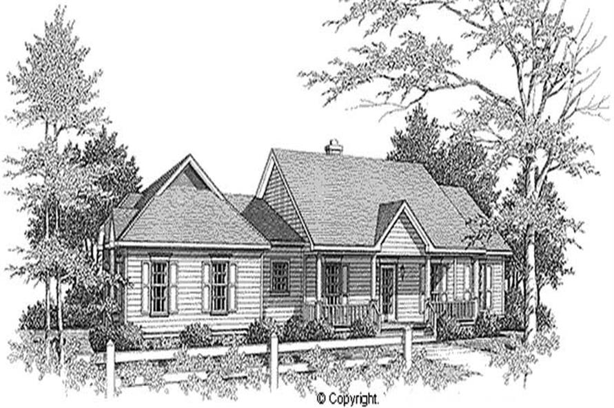Main image for house plan # 11237