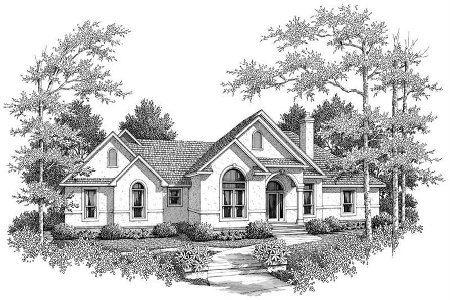 Main image for house plan # 11259