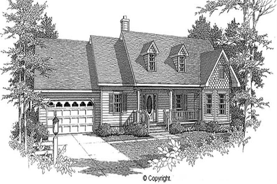 Main image for house plan # 11247