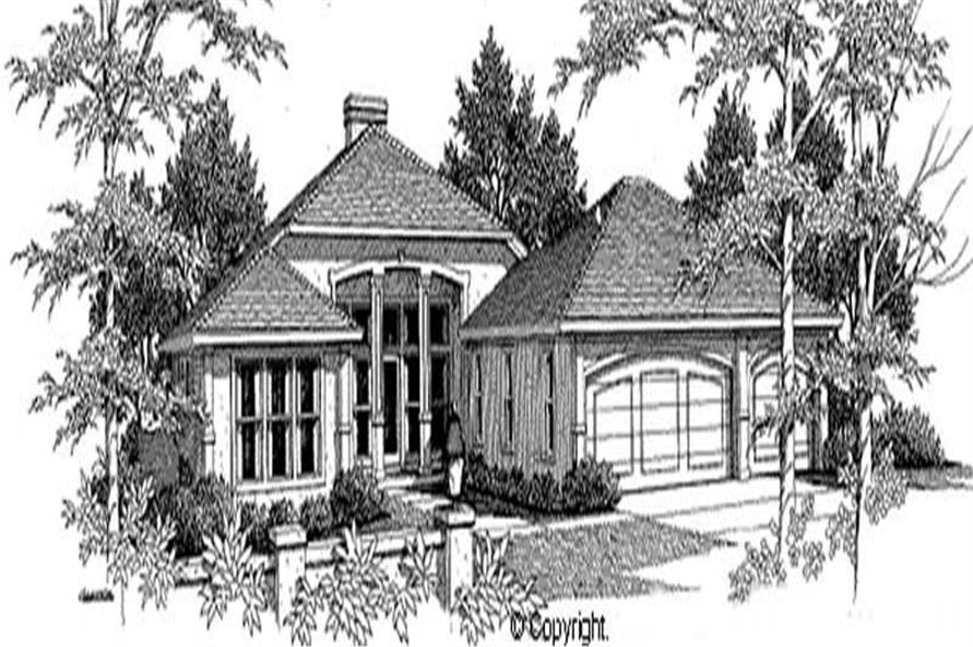 Main image for house plan # 11268