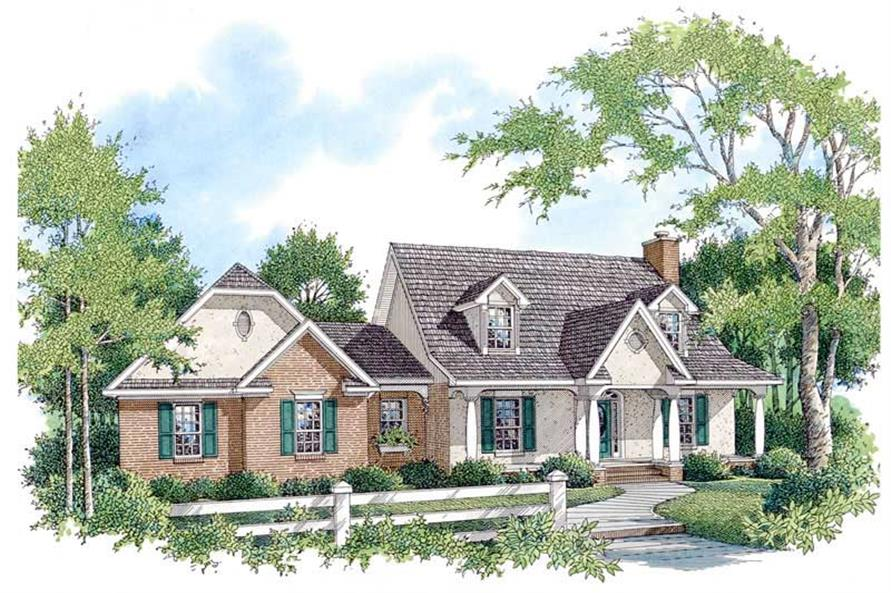 Main image for house plan # 11273