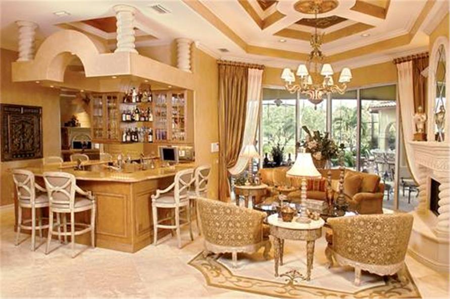 175-1058: Home Interior Photograph-Living Room