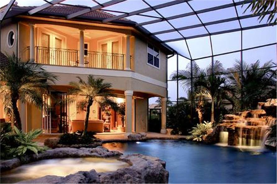 175-1058: Home Exterior Photograph-Pool