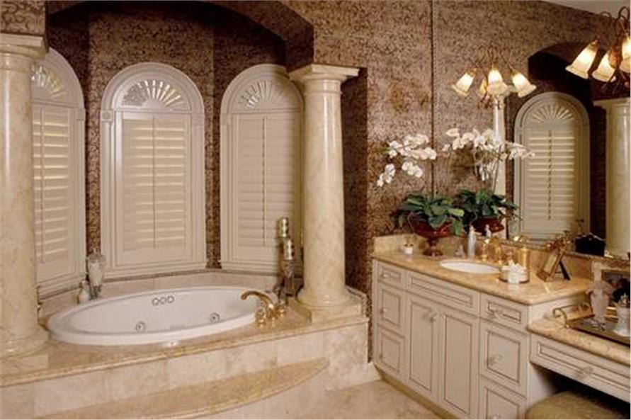 175-1058: Home Plan Other Image-Master Bathroom