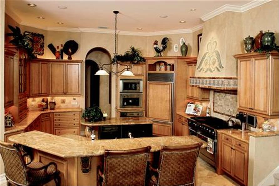 175-1058: Home Interior Photograph-Kitchen