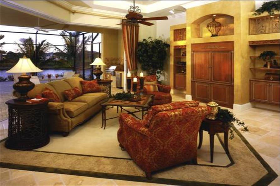 175-1071: Home Interior Photograph-Family Room