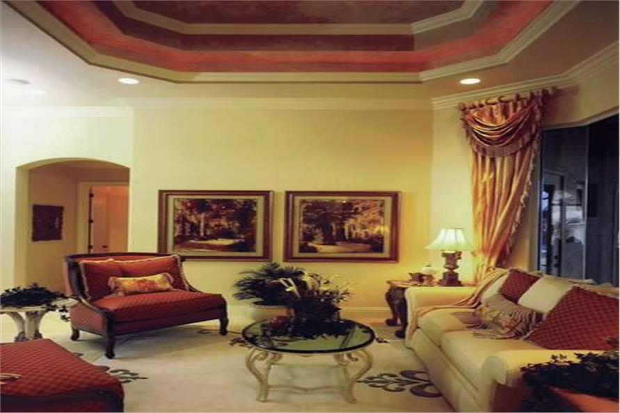 175-1071: Home Interior Photograph-Living Room