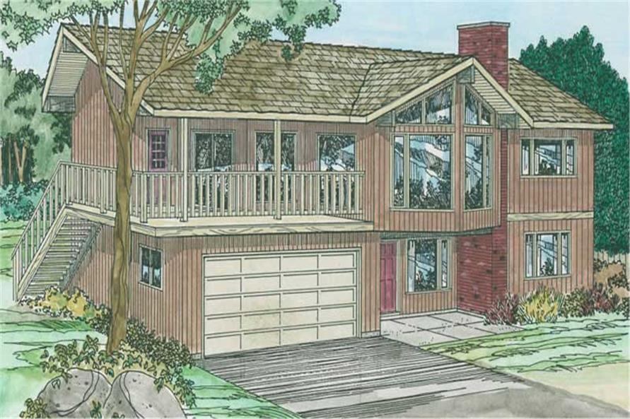 Main image for house plan # 13073