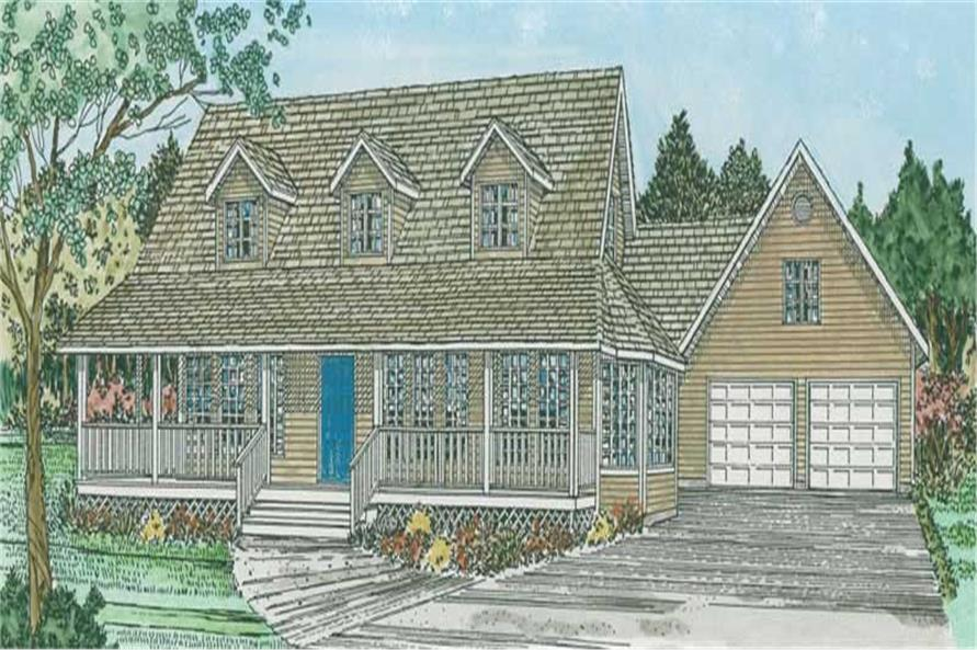 Main image for house plan # 13067