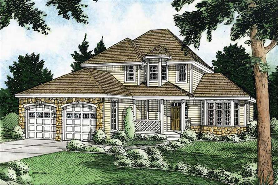 Main image for house plan # 13092