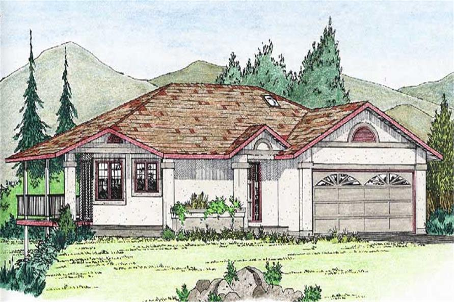 Main image for house plan # 13094
